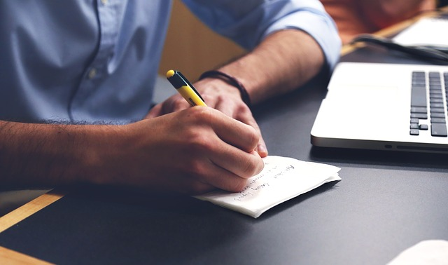 Writing a business